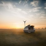 Tiny Wind & Solar Powered Home Lets You Live Off The Grid Anywhere In The World