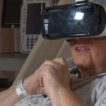 Study: Virtual reality therapy can lower stress levels of hospital patients